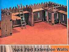 Playmobil 7401 Vintage Western Stockade Fort Extension Set  - Mint in bag