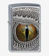 "ZIPPO ""DRAGON EYE"" CHROME LIGHTER / 2002539 ** NEW in BOX **"