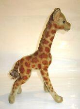 Steiff Mohair Giraffe ca. 35 cm groß Knopf mit Schreibschrift