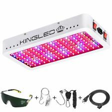King Plus 1500W Double Chips Led Grow Light Full Spectrum for Greenhouse and .