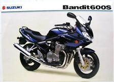 SUZUKI Bandit 600S Original Motorcycles Sales Sheet 2003 #MB03GSF600S-LEAF