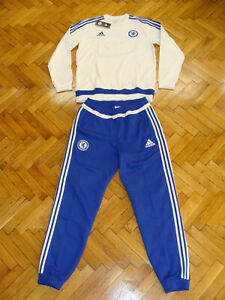 Chelsea Soccer Tracksuit England Football Suit Sweatshirt Sweat Pants NEW