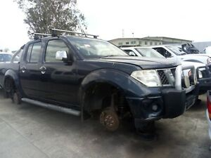 WRECKING D40 NISSAN NAVARA UTILITY 2007 AUTO $1 WHEEL NUTS PARTS ONLY