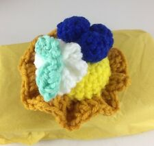 Made In America Stuffed Toy Pastry Blueberry Pie-Party Favor Bags, Ages 2+