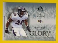 Ed Reed 2002 Legendary Cuts Destined for Glory RC #d 708/1100, #169 Ravens
