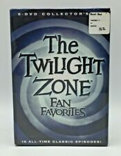 The Twilight Zone Fan Favorites 5 Disc Collector's DVD Set New Sealed 2010