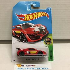 Renault Sport RS 01 #365 * RED * 2017 Hot Wheels Case Q