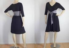 Leona Edmiston Stretch, Bodycon Machine Washable Solid Dresses for Women