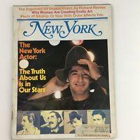 New York Magazine February 11 1974 The New York Actor Al Pacino & John Barrymore
