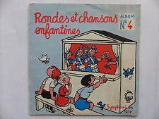Rondes et chansons enfantines N°4 1217