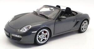 Kyosho 1/18 Scale Diecast 08381SG - Porsche Boxster S - Grey Metallic