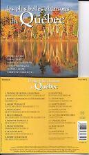 CD PLUS BELLES CHANSONS DU QUEBEC 17T DION/DUFRESNE/CHARLEBOIS/VIGNEAULT/ RENO