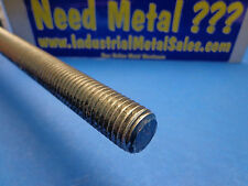 """3/4""""-10 x 12""""-Long 304 Stainless Steel Threaded Rod -->3/4"""" -10 Threads per inch"""
