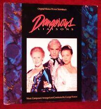 OST DANGEROUS LIAISONS GEORGE FENTON 1988 WB SEALED