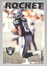 1994 Rocket Ismail Oakland Raiders Original Starline Poster OOP