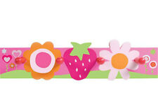 NEW Strawberry and Flowers Coat Rack- 4KnB