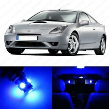8 x Blue LED Interior Lights Package For 2002 - 2005 Toyota Celica + PRY TOOL