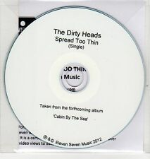 (EH932) The Dirty Heads, Spread Too Thin - 2012 DJ CD