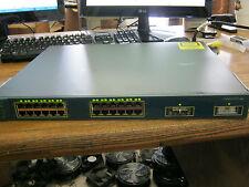 Cisco Model: WS-3550-24-SMI Catalyst Switch w/ (1) 30-0759-01 GBIC <