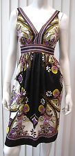 ICE SLEEVELESS ADORABLE PAISLEY DRESS SIZE 10P