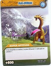Carte DINOSAUR KING Attaque Alpha JET D'EAU DKAA 056/100