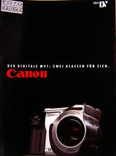 Canon Mini DV Der Digitale MV 1 prospekt brochure deutsch german - (0741)