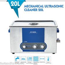 Pulitore ad Ultrasuoni Ceaner 20L Timer riscaldamento Inossidabile 40KHz EU+Tub