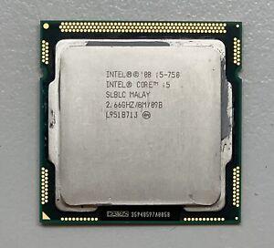 Intel i5-750 CPU, 2.66GHz, SLBLC, Socket LGA1156 #J2