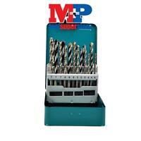 MAKITA D-47173 MIXED DRILL BIT SET WOOD METAL MASONRY IN TIN 18PC