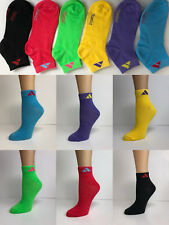 New Lot 12 Pairs Womens Triangle Color Ankle Low Cut Socks Size 9-11 Fashion