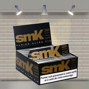 Feuille a Rouler Slim lot de 50 carnets de feuilles à rouler SMK longue