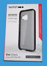 100%GENUINE Tech21 ULTRA THIN Evo Check Case for HTC One M9 -  Black-  ***NEW***