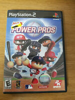 Playstation 2 MLB Power Pros (Sony PlayStation 2, 2007) PS2 Baseball Complete