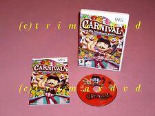 Wii _ Carnival Die Jahrhundert-Party _ Sehr guter Zustand _ 1000 Spiele im SHOP
