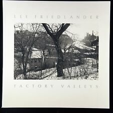 Lee Friedlander Factory Valleys Softcover New & Signed Photography Book