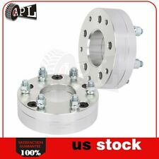 "2x 5 Lugs 2"" 50 mm 5x5 to 6x5.5 14x1.5 wheel spacers for 1996 Chevrolet Blazer"