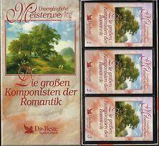 3 MCs - Unvergängliche Meisterwerke - Die Großen Komponisten Der Romantik