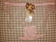 PRETTY  PINK  SISSY TOTAL SHEER KNICKERS NEW   SIZE  6/8