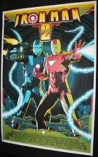 MONDO Marvel Iron Man 2 Alamo Drafthouse Screen Print Poster EX Mike Saputo 2010