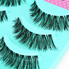 5 Paar natürliche  Eye Lashes Makeup Handmade dicke falsche Wimpern L27 Geschenk