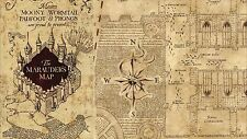 Harry Potter Marauders Map A4 Edible Icing Sheet Cake Topper (N2)