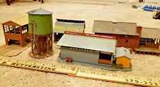 Lot of 5 Train Garden  Buildings  Structures HO ?