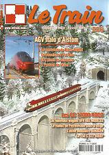 LE TRAIN N°286 AGV ITALO D'ALSTOM / CC 72000 / WAGONS UFR REE MODELES /150 C 822