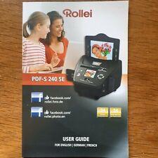 Rollei PDF-S 240 SE Dia und Foto-Scanner gebraucht, wie neu!