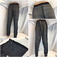 New Balance Jogger Pants 42x30 Gray Poly Lycra Drawstring No Flaws YGI C9-555