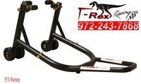 T-Rex 35YRWRNTY  Honda Yamaha Kawasaki Universal Paddock Motorcycle Stands