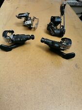 SRAM MTB X4 Shifter Trigger 8 Speed rear and 3 speed front with derallieurs