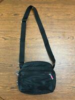 PRICE REDUCED! HEDGREN Shoulder Handbag, Black, bottom zips open for added room