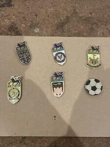 English Premier League Football Club Pin Badges 1996/1997 Job Lot Bundle