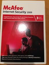 McAfee Internet Security 2009 Protects Up To 3 PCs new